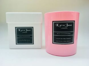 Mothers Day  Collection -  Pink Champagne  Scented Candle Tumbler